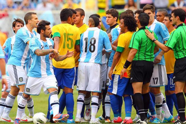 Argentina vs Brazil copa