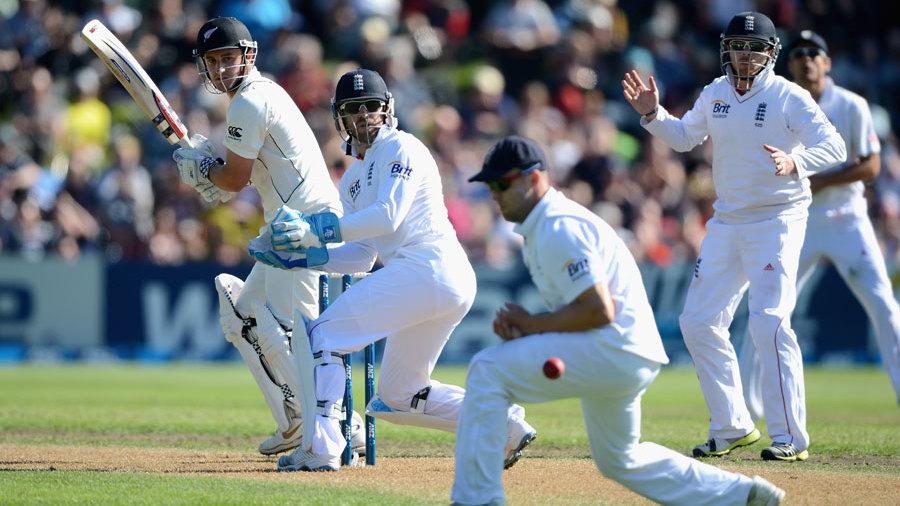 England Vs New Zealand test