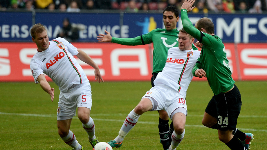 FC Augsburg Vs Hannover 96