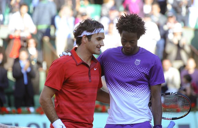 Gael Monfils Vs Roger Federer