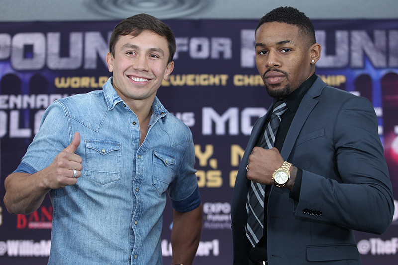 Gennady Golovkin Vs Willie Monroe Jr.
