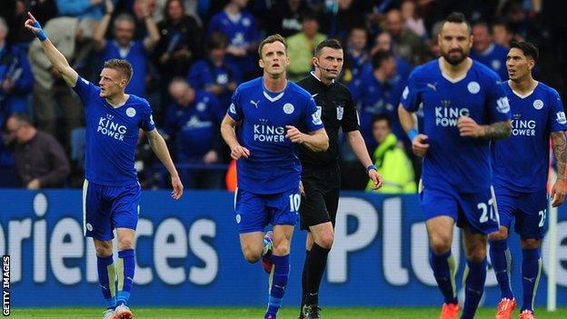 Leicester city Vs Queens Park Rangers