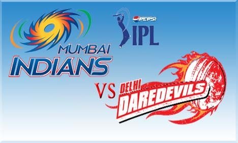Mumbai Indians (MI) Vs (DD) Delhi Daredevils Live streaming