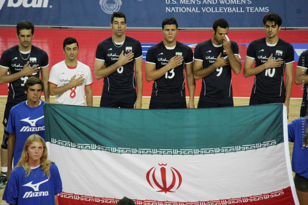 USA Vs Iran Volleyball