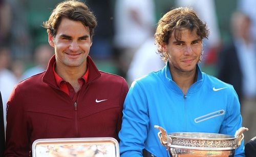 Federer finished second to Nadal in 2011 here (photo: zimbio)