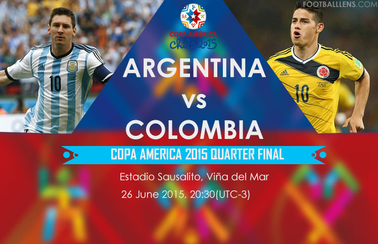 Argentina Vs Colombia Quarter Final Copa America