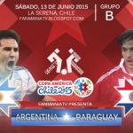 Argentina Vs Paraguay Live stream Copa America 2015