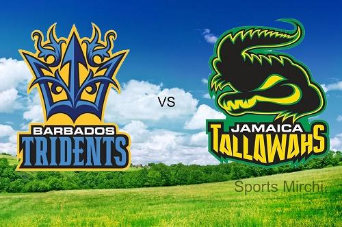 Barbados Tridents Vs Jamaica Tallawahs