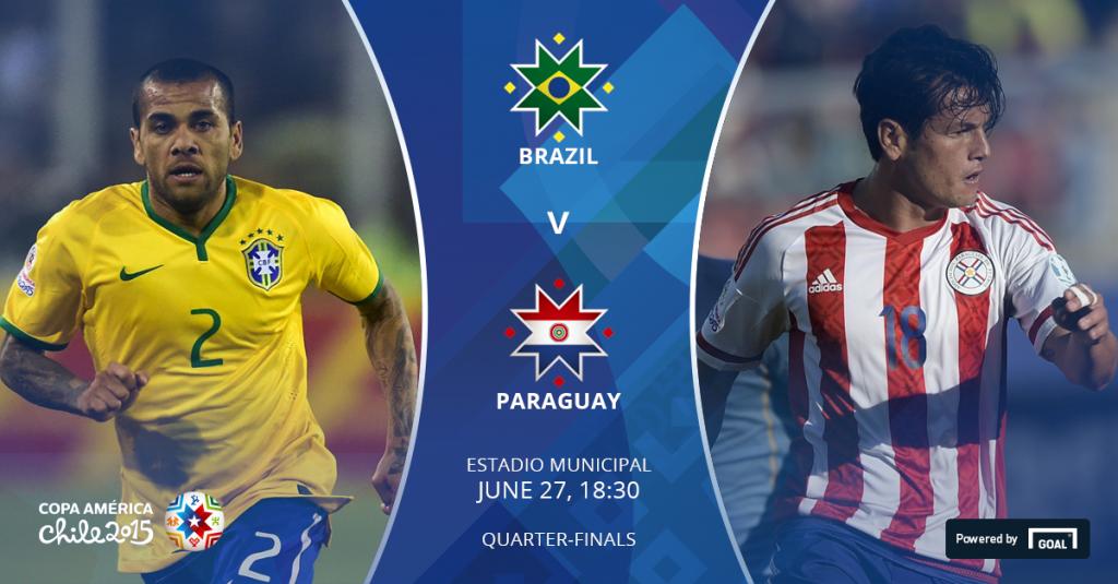 Brazil Vs Paraguay Live stream Quarter Final Copa America