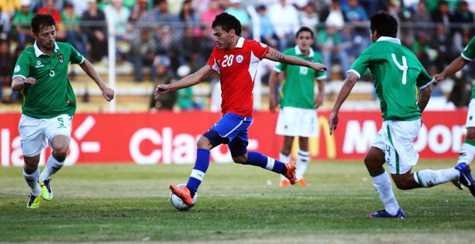 Chile Vs Bolivia