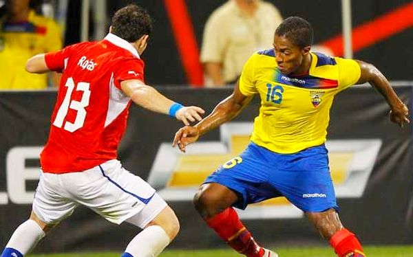 Chile Vs Ecuador copa