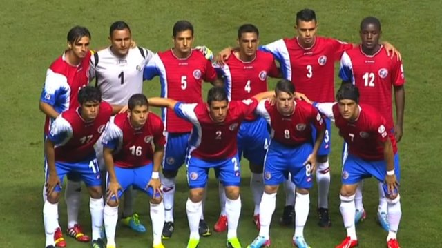 World cup squad of Costa Rica