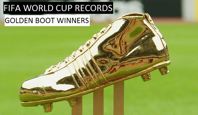 FIFA world cup 2015 Golden boot winner list all time