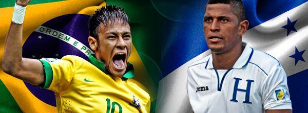Honduras Vs Brazil