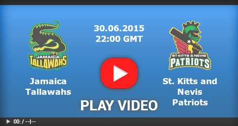 Jamaica Tallawahs VS Saint Kitts & Nevis Patriots