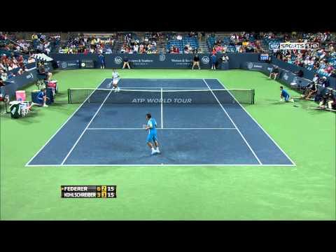 Roger Federer Vs Philipp Kohlschreiber