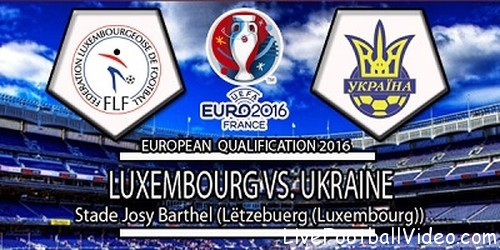 Ukraine vs Luxembourg
