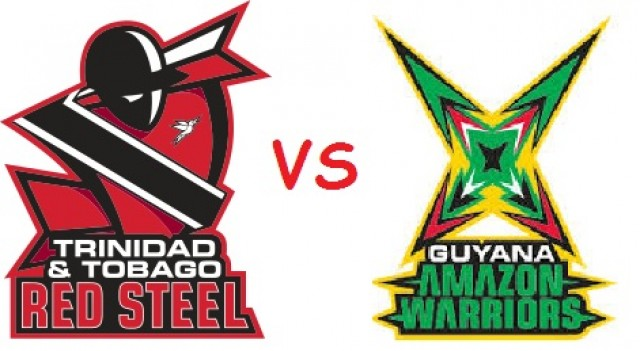 Guyana Amazon Warriors Vs Trinidad & Tobago Red Steel