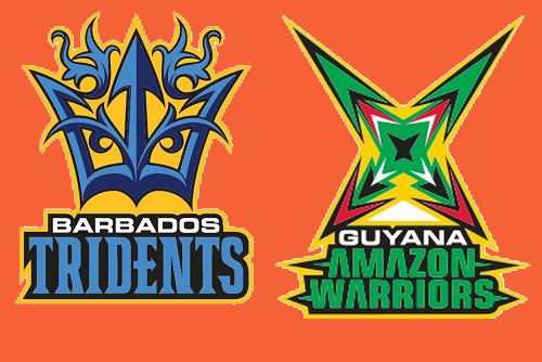 Guyana Amazon Warriors vs Barbados Tridents
