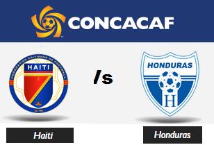 Haiti Vs Honduras gold cup