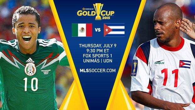 Mexico Vs Cuba (CONCACAF Gold cup 2015)