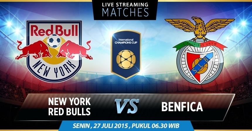 New York Red Bulls Vs Benfica