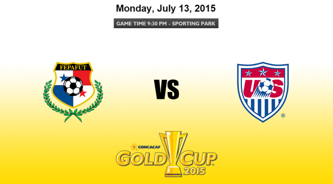Panama vs USA – CONCACAF Gold Cup 2015