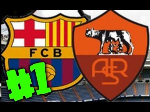 Roma Vs Barcelona