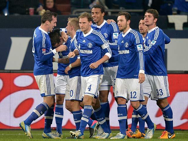 Schalke goal