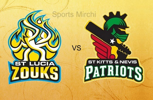 St Kitts and Nevis Patriots Vs St Lucia Zouks