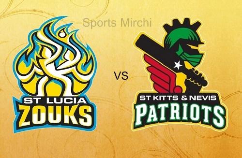 St Kitts and Nevis Patriots Vs St Lucia Zouks
