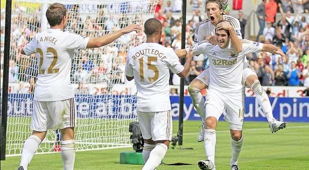 Swansea city goal