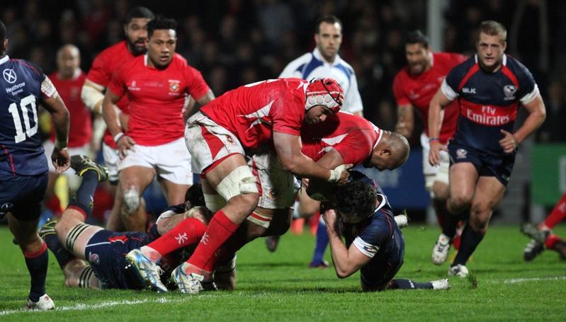 Tonga Vs USA (Rugby)