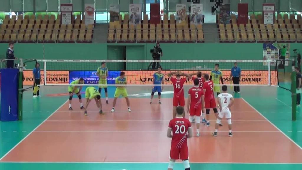Turkey Vs Slovenia Volleyball