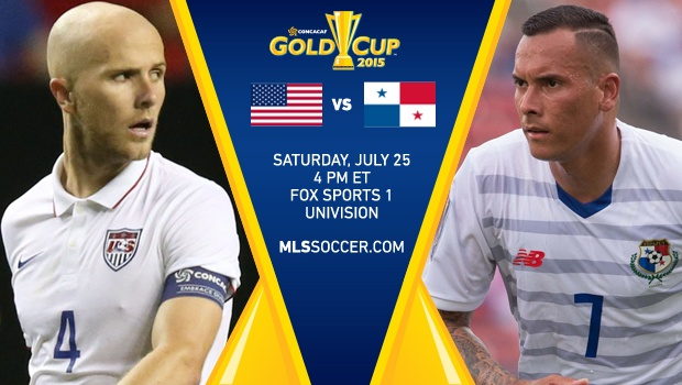USA Vs Panama CONCACAF Gold cup 2015