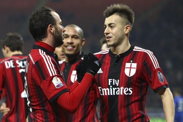 AC Milan Vs Perugia - Coppa Italia 2015-16