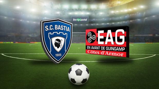 Bastia Vs Guingamp