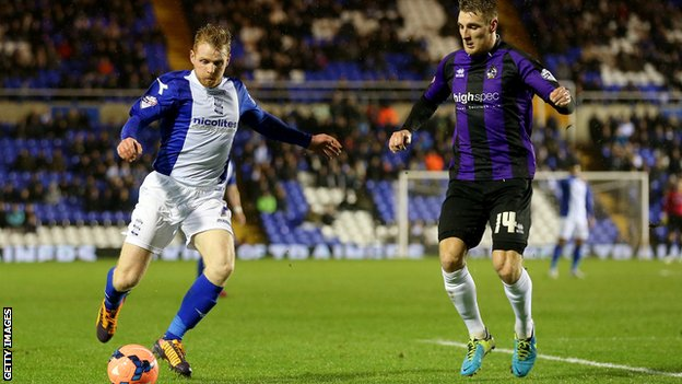 Bristol Rovers vs Birmingham city