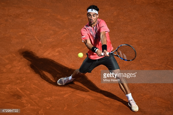 Fabio Fognini Vs Steve Johnson live
