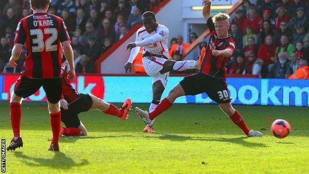 Liverpool Vs Bournemouth (English Premier League): Report