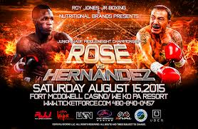 Louis Rose Vs Andrew Hernandez (Boxing)