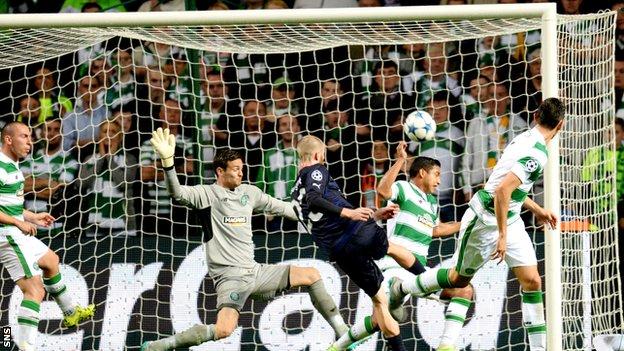 Malmo FF Vs Celtic