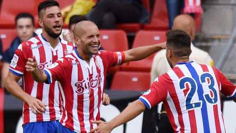 Real Sociedad Vs Sporting Gijon – La Liga 2015-16