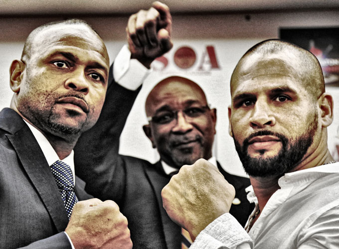 Roy Jones Jr Vs Danny Santiago