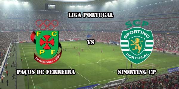 Sporting Lisbon Vs Pacos Ferreira