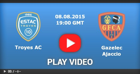 Troyes Vs Gazelec Ajaccio - French Ligue 1