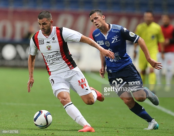 Troyes Vs Nice - French Ligue 1