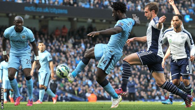 West Bromwich Albion Vs Manchester city (EPL)