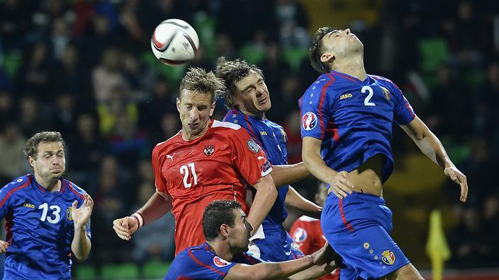 Austria vs Moldova