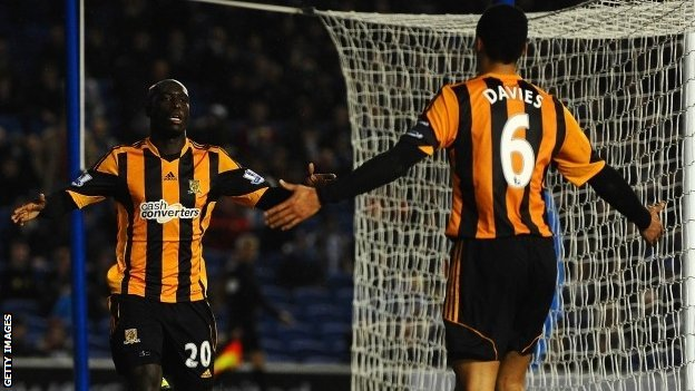 Brighton and Hove Albion Vs Hull city